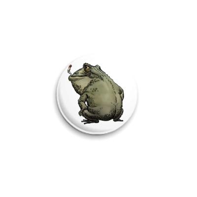 Значок 25мм Toad-smoker