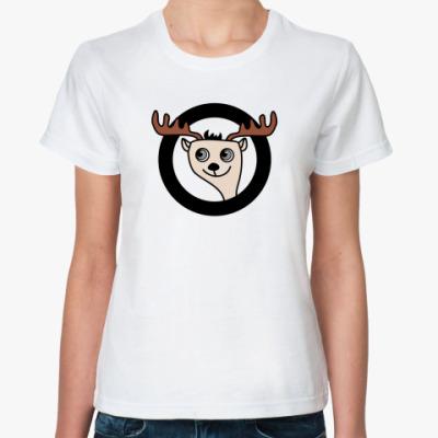 Классическая футболка Олень