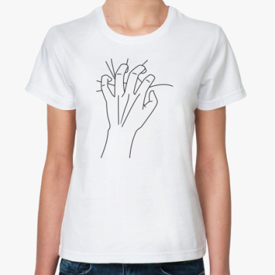Классическая футболка 'Страсть'