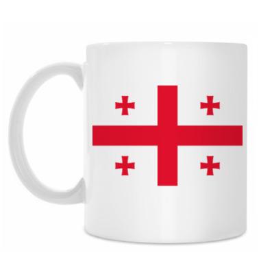 Кружка 'Флаг Грузии'