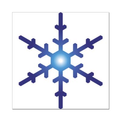Наклейка (стикер) Снежинка