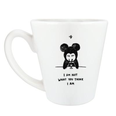 Чашка Латте Not a Mickey M