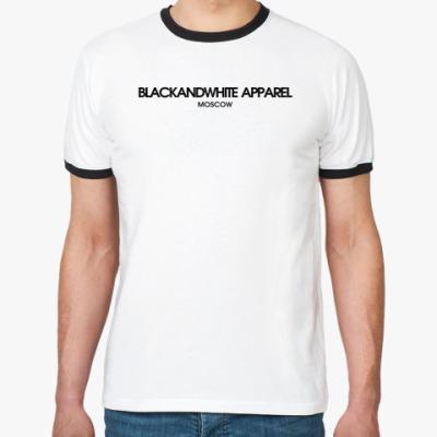 Футболка Ringer-T BLACKANDWHITE / APPAREL EDITION